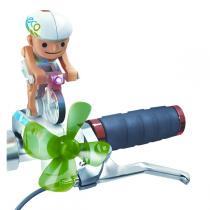 Power Plus - Chipmunk ciclista che pedala col vento