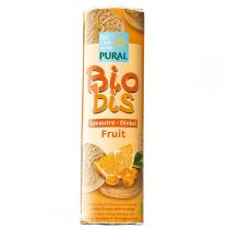 Pural - Biscuit fourré Biobis épeautre orange 300g