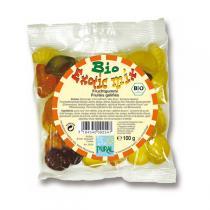 Pural - Bonbons bio aux fruits  exotic mix , 100g