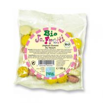Pural - Bonbons bio  Jo-frutti  au yaourt, 100g