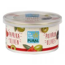 Pural - Pâté végétal olives poivrons 125g