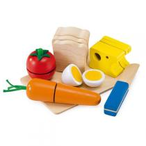 Selecta - Picnic Wooden Food Cutting Set