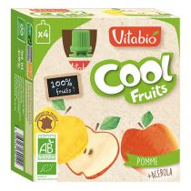 Vitabio - Compote Cool Fruits Pomme 4x90g