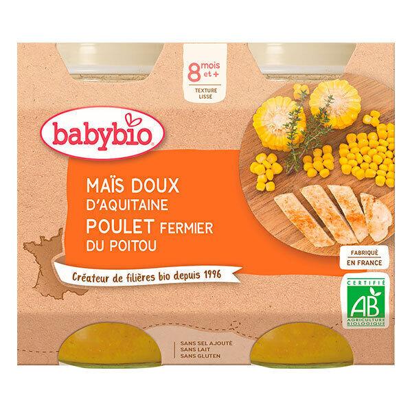 Babybio - Babybio Menu Légumes Poulet Fermier