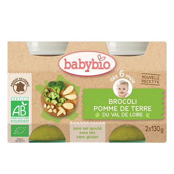 Babybio - Babybio Brocoli-Carotte dès 4mois
