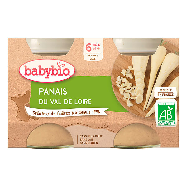Babybio - Petits pots Panais dès 4mois 2x130g