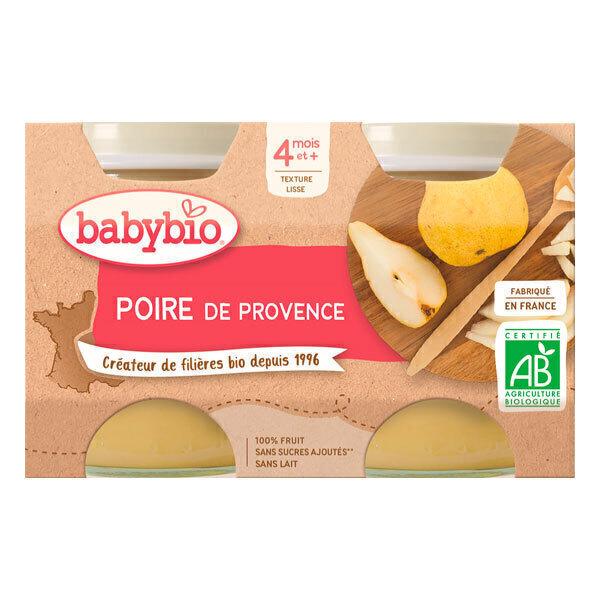 Babybio - Babybio Poire Williams dès 4mois