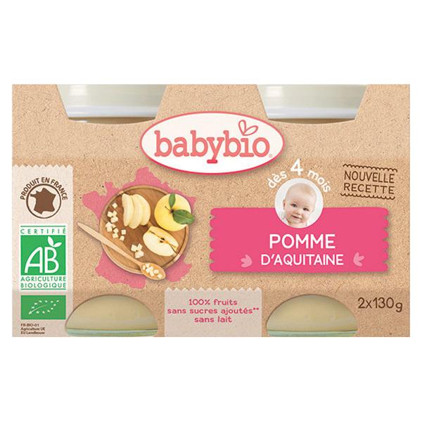 Babybio - Babybio Pomme Vanille dès 4mois