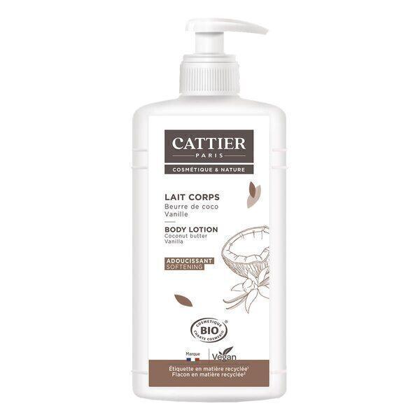 Cattier - Moisturising Body Milk Softening 500ml