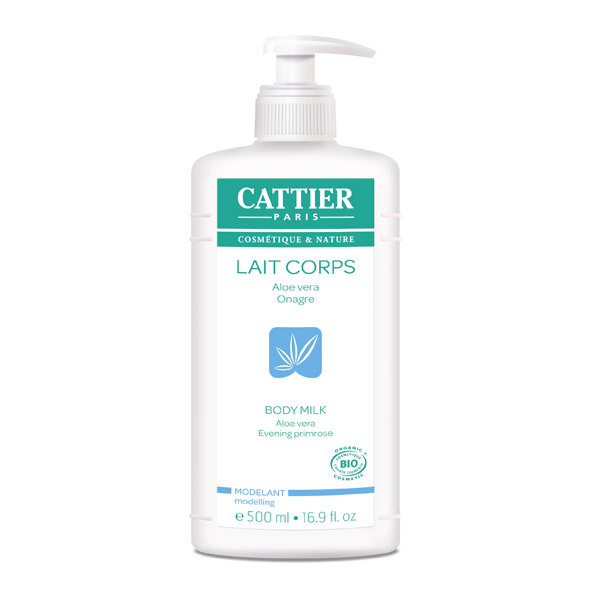 Cattier - Lait corps modelant 500ml