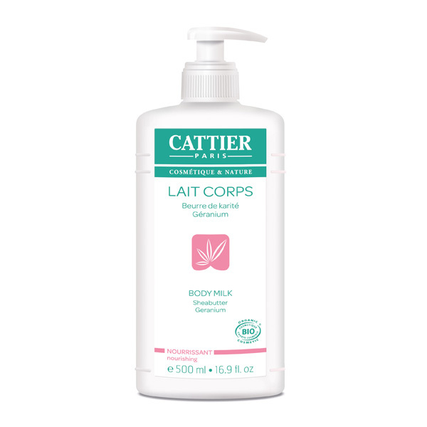 Cattier - Lait corps nourrissant 500ml