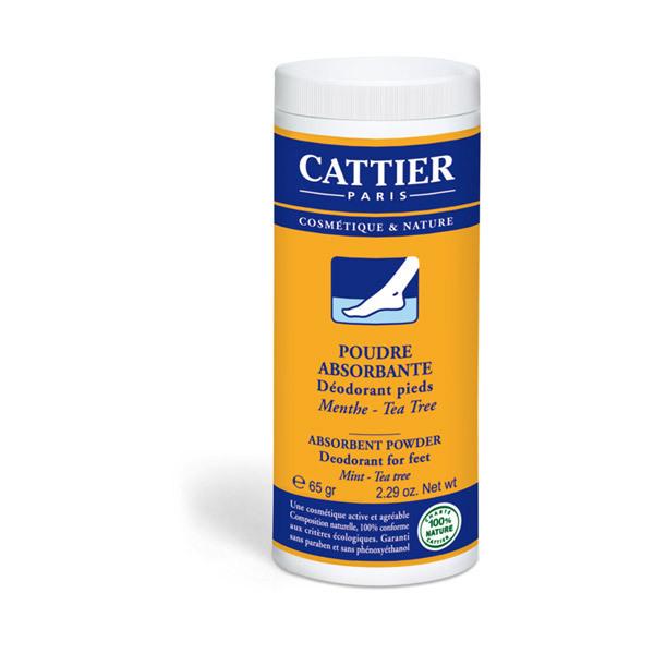 Cattier - Absorbent Foot Deodorant Powder