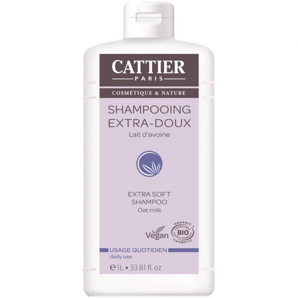 Cattier - Shampoing extra-doux 1l