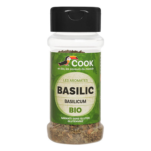 Cook - Basilic feuille bio 15g