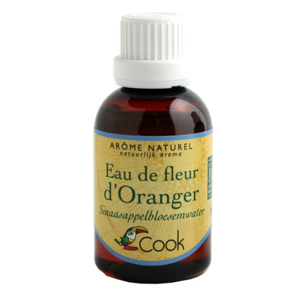extrait naturel eau fleur d'oranger bio 50ml cook | acheter sur