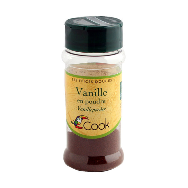 Vanille poudre bio Cook 20 g | Acheter sur Greenweez.com