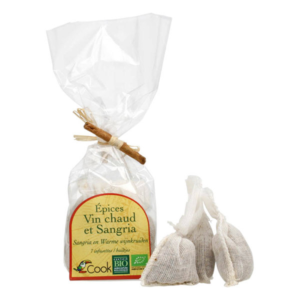Cook - Vin chaud 7 infusettes bio