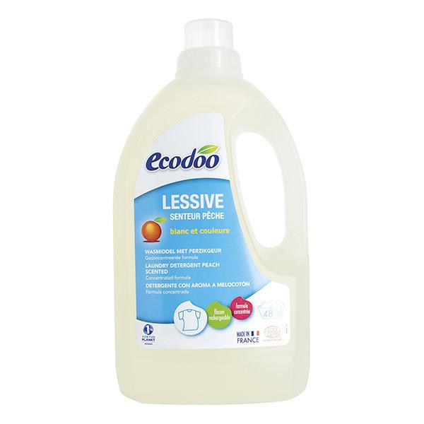 Ecodoo - Lessive liquide concentrée Pêche 1,5L