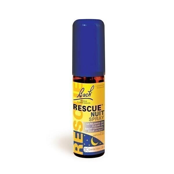 Rescue Nuit Flacon Spray 20ml Rescue Acheter Sur Greenweez Com