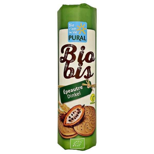 Pural - Biscuit fourré Biobis épeautre cacao 300g