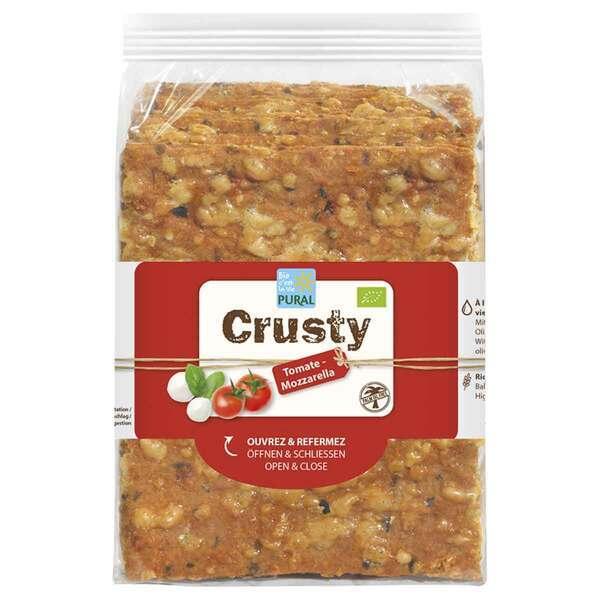 Pural - Crusty tomate mozzarella 200g