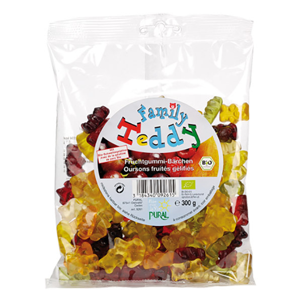 Pural - Family Teddy bonbons oursons 300g