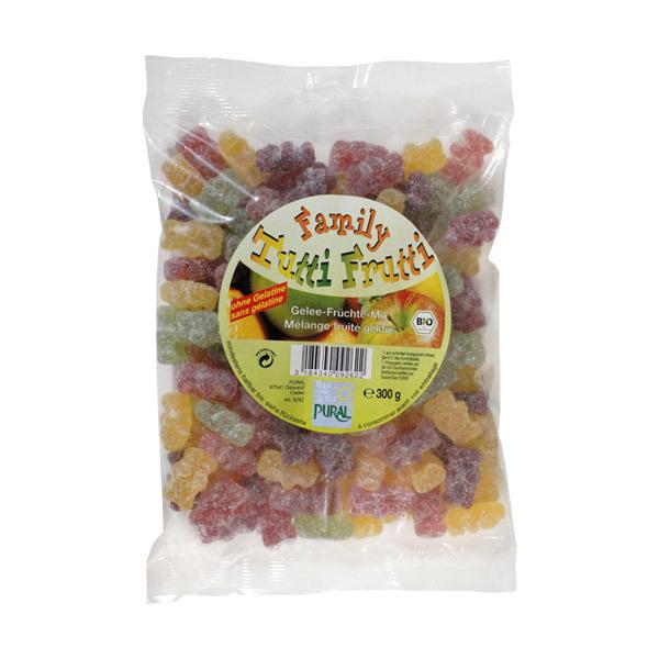 Pural - Caramelle Tutti Frutti Bio Family