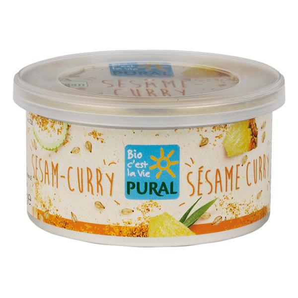 Pural - Pâté végétal curry sésame 125g