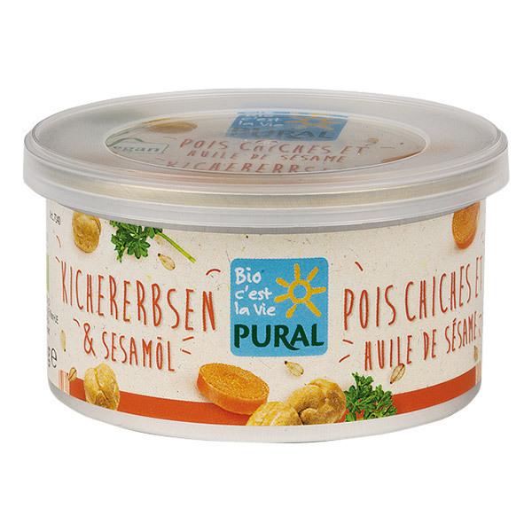 Pural - Pâté végétal pois chiches 125g