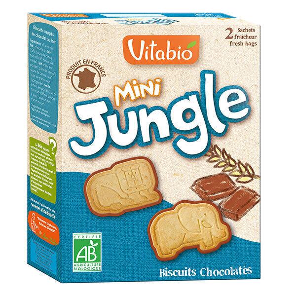 Vitabio - Biscuits Chocolatés Mini Jungle x 160g