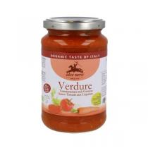 Alce Nero - Sauce Tomate aux Légumes Bio Italie 350g