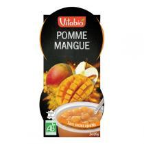 Vitabio - Dessert Pomme Mangue Bio - 2x120g