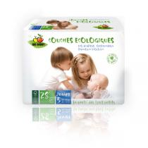 Bio Babby - Pack 6 x 28 Couches Bio Babby T5 Junior 12-25kg