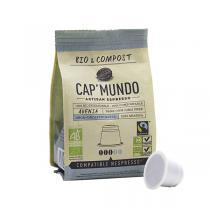 Cap Mundo - Café Bio décafeiné ADENIA x10 capsules