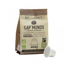 Cap Mundo - Café Bio COMBAWA x10 capsules