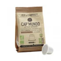 Cap Mundo - Café Bio KOLLI LONGBERRY x10 capsules