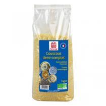 Celnat - Couscous demi-complet bio - 3 kg