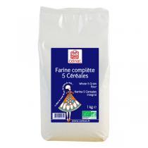Celnat - Farine complète 5 céréales bio - 3 kg