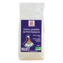 Celnat - Farine complète de petit épeautre bio - 25 kg