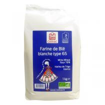 Celnat - Farine de blé blanche T65 bio - 5 kg