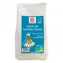 Celnat - Farine de lentilles vertes bio 500g