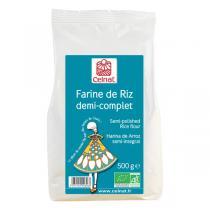Celnat - Farine de riz demi-complet bio - 500 g