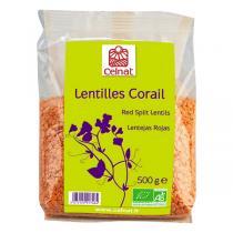Celnat - Lentilles Corail bio - 3Kg