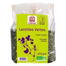 Celnat - Lentilles vertes bio - 25Kg