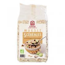 Celnat - Muesli 5 Céréales bio - 25Kg