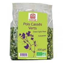 Celnat - Pois Cassés Verts bio - 500g