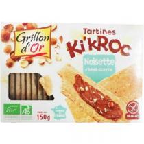Grillon d'or - Tartines Ki'kroc noisette BIO 150g