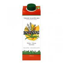 In fusion - Tisane glacée bio Pêche Citron Verveine 1L