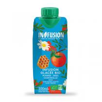 In fusion - Tisane glacée bio Pomme Miel Camomille 330 mL