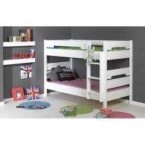 Junior provence - Lit superposable 90x190cm Milo Blanc